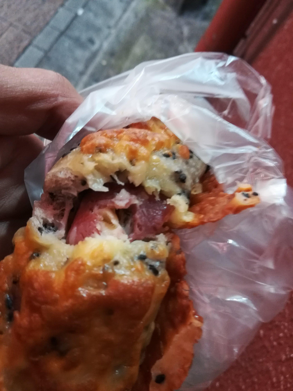 中野のパン屋さんボン、ごまチーズベーコンおいしい
