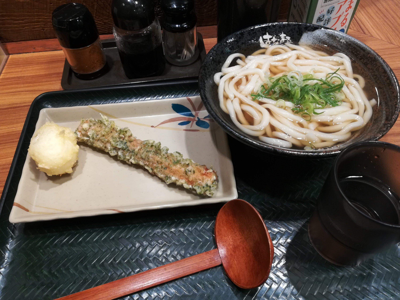はなまるうどんで好きなのは半熟卵の天ぷら