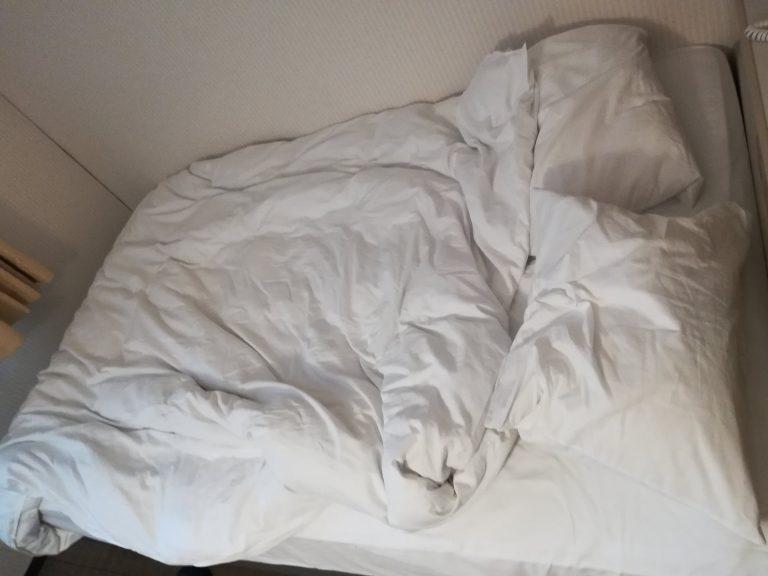 ホテルクラウンヒルズ相模原のベッド