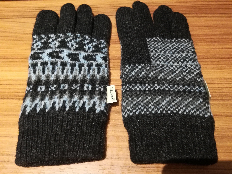 大きいサイズのメンズ手袋を買えた吉祥寺のL.L.Bean