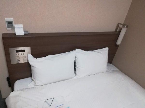 ダイワロイネットホテル横浜関内のベッド